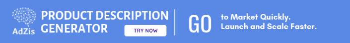 eCommerce Product Description Generator for Online Stores