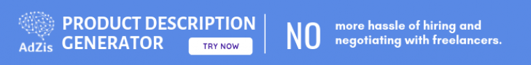 Online Store description generator