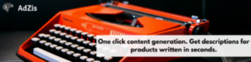 One Click Content Generation