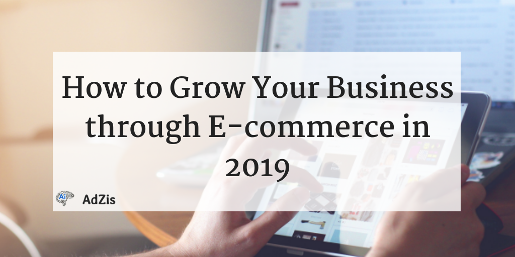 How to Grow Your Business through E-commerce in 2019