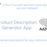 Product Description Generator App