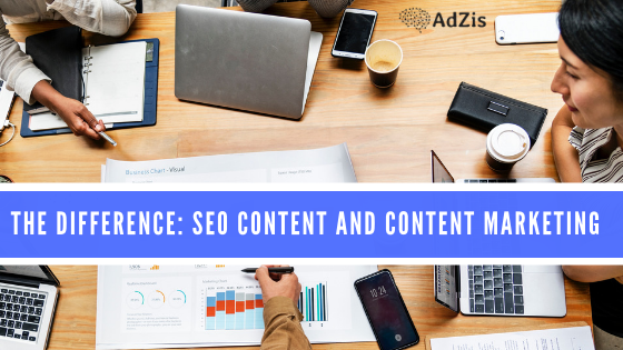 The Difference: SEO Content and Content Marketing