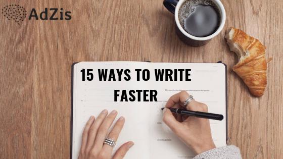 Write-Faster