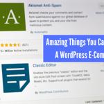 WordPress E-Commerce Store