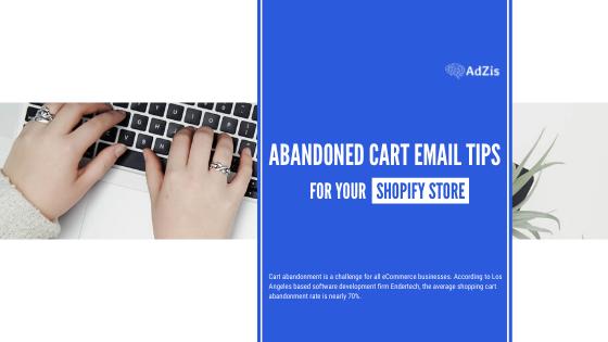Shopify Cart Abandonment