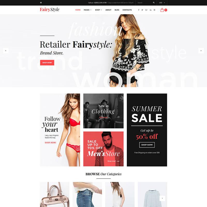 Fashion Designer WooCommerce Theme