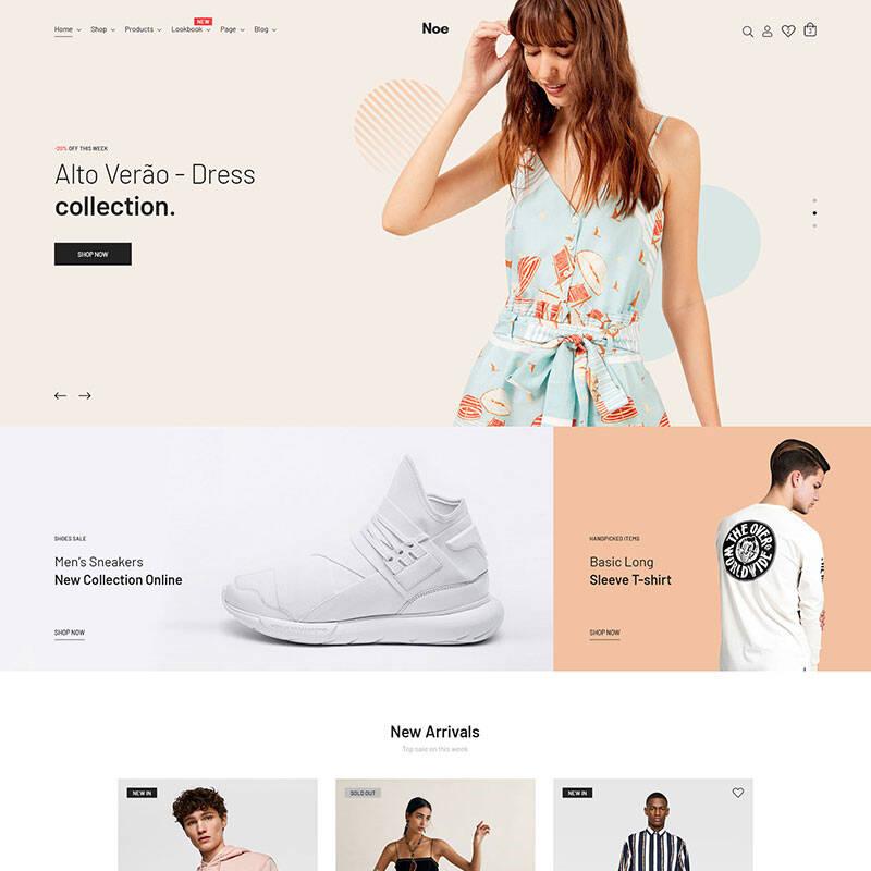 Noe - Stylish & Fashion WooCommerce Theme