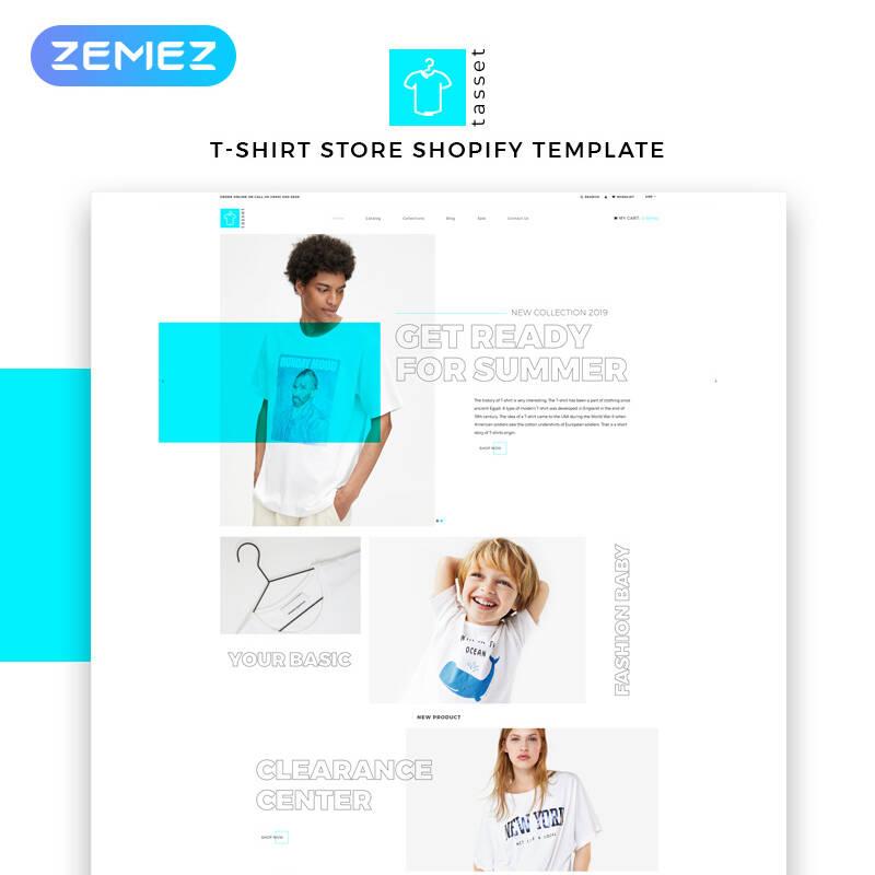 Tasset - Fashion Store Multipage Modern Shopify Theme