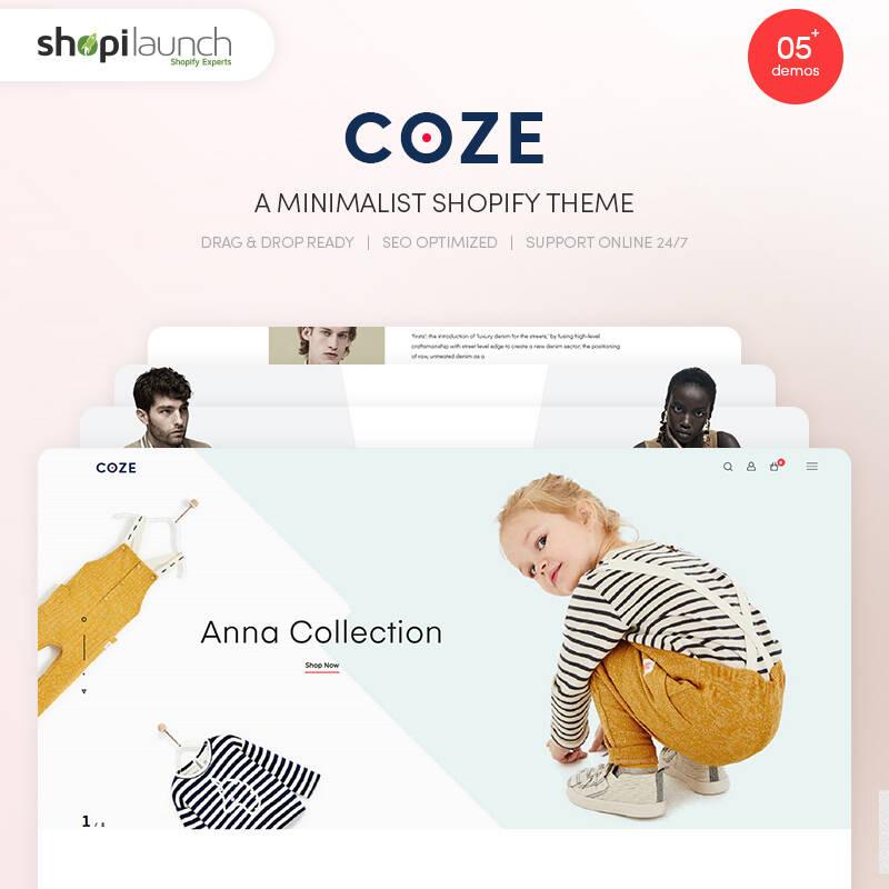 COZE - A Minimalist Shopify Theme