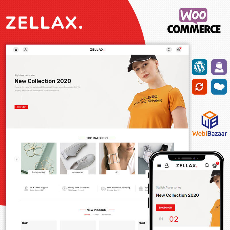 Zellax Fashion WooCommerce Theme