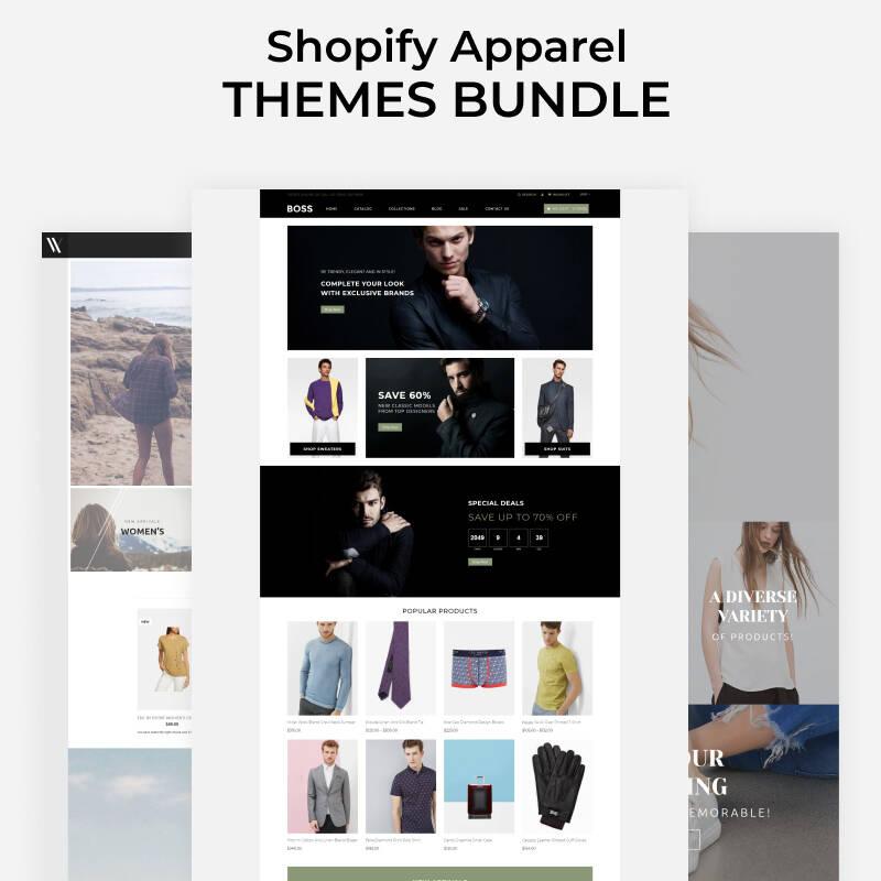 Apparel Store Template Bundle Shopify Theme