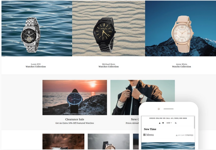 New-Time-Watches-Clean-Shopify-Theme